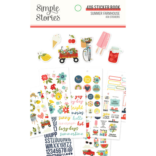 Simple Stories Summer Farmhouse - Sticker Book