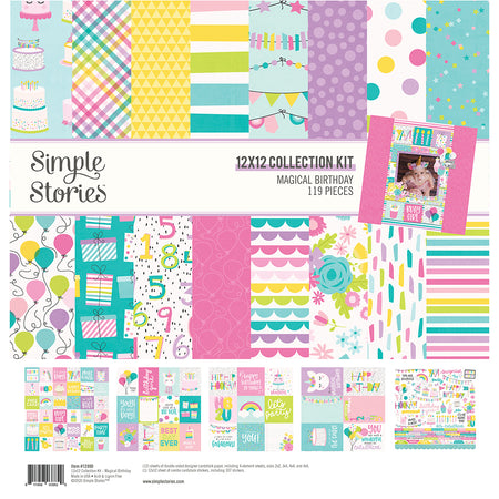 Simple Stories Magical Birthday - 12x12 Collection Kit