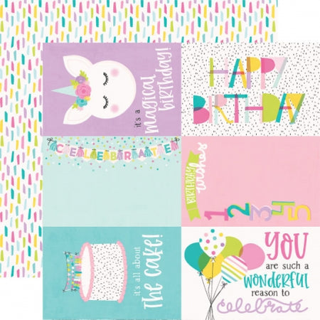 Simple Stories Magical Birthday - 4x6 Elements