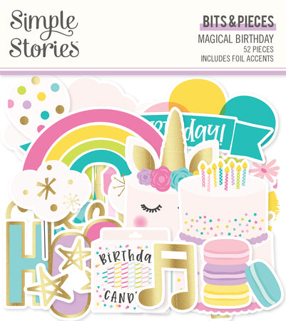 Simple Stories Magical Birthday - Bits & Pieces