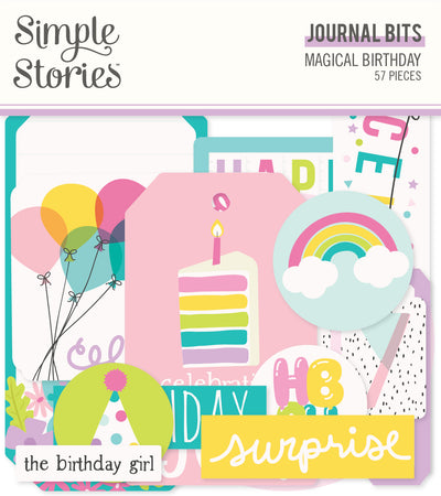 Simple Stories Magical Birthday - Journal Bits & Pieces