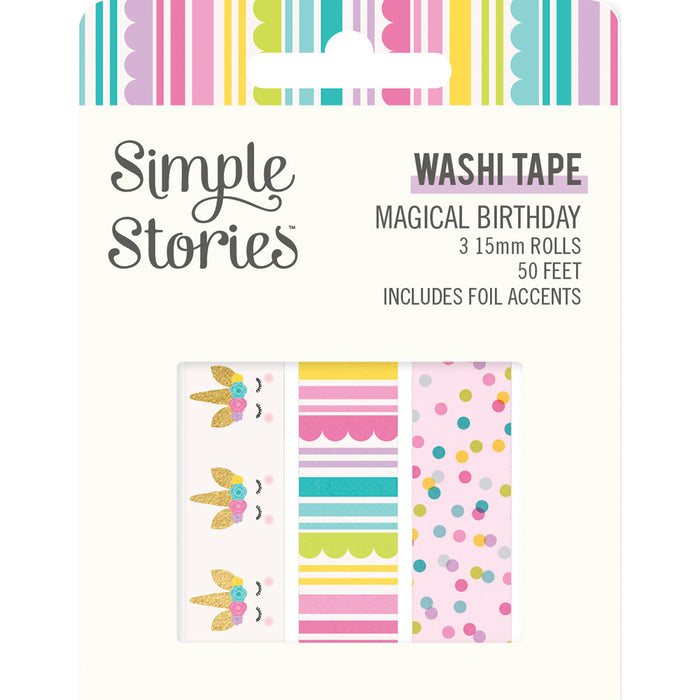 Simple Stories Magical Birthday - Washi Tape