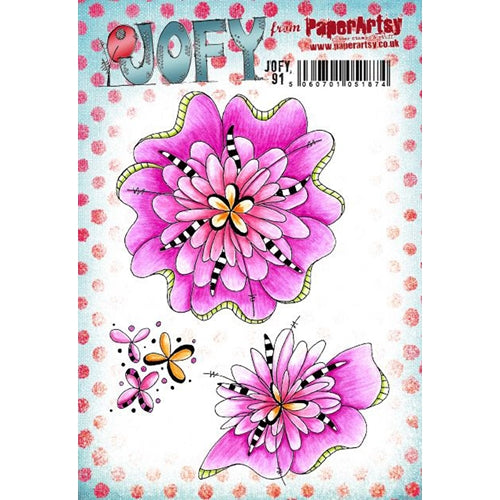PaperArtsy Stamp Set - JOFY 91