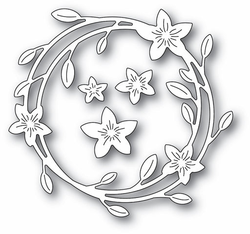 Memory Box Die - Magnolia Wreath