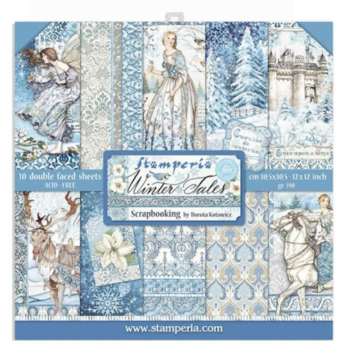 Stamperia Winter Tales - 12x12 Paper Pack