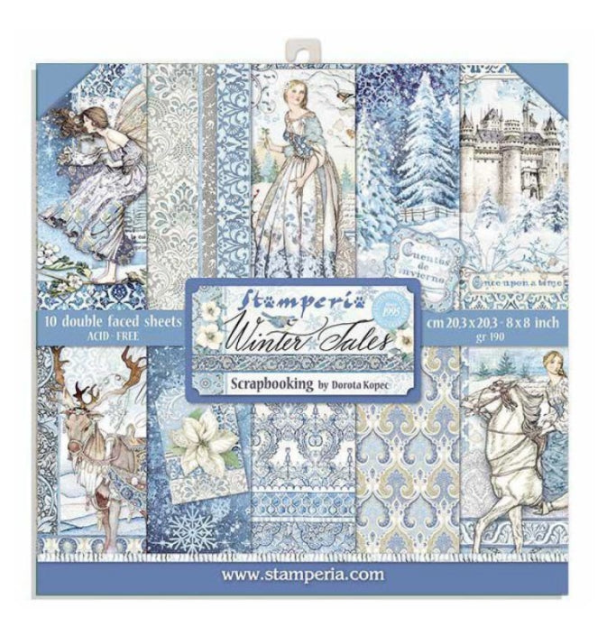 Stamperia Winter Tales - 8x8 Paper Pack