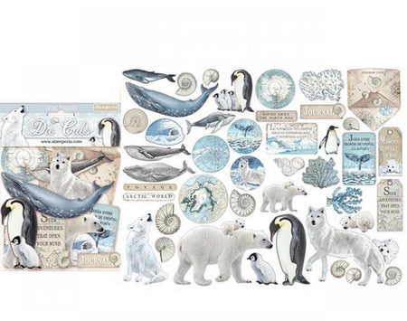 Stamperia Die-Cuts - Arctic Antarctic