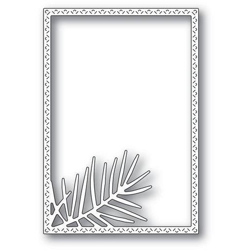 Memory Box Die - Pointed Pine Needle Frame