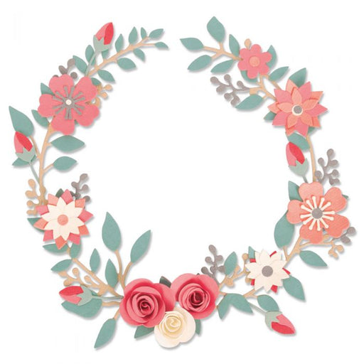 Sizzix Thinlits Die - Wedding Wreath