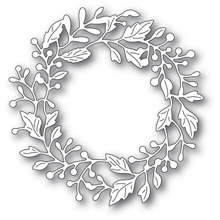 Poppystamps Die - Adriana Wreath