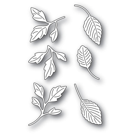 Poppystamps Die - Orchard Leaves