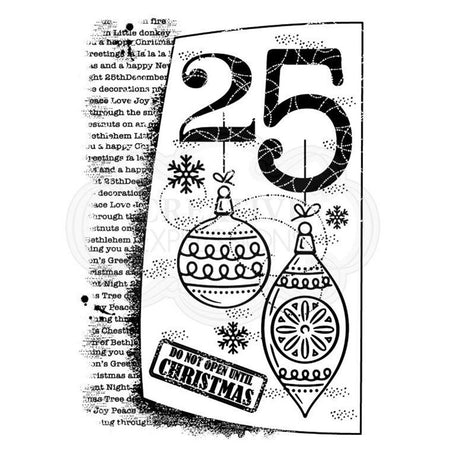 Woodware Clear Magic Singles Stamps - 25th December
