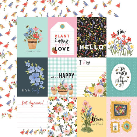 Carta Bella Oh Happy Day - 3x4 Journaling Cards
