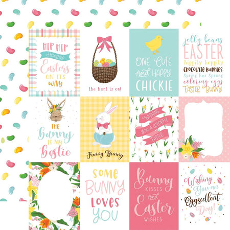 Echo Park I Love Easter - 3x4 Journaling Cards
