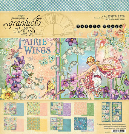 Graphic 45 Fairie Wings - Collection Pack