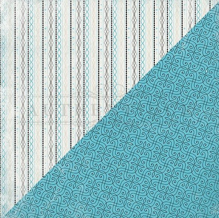 Authentique Glamour - #4 Vertical Woven Stripe