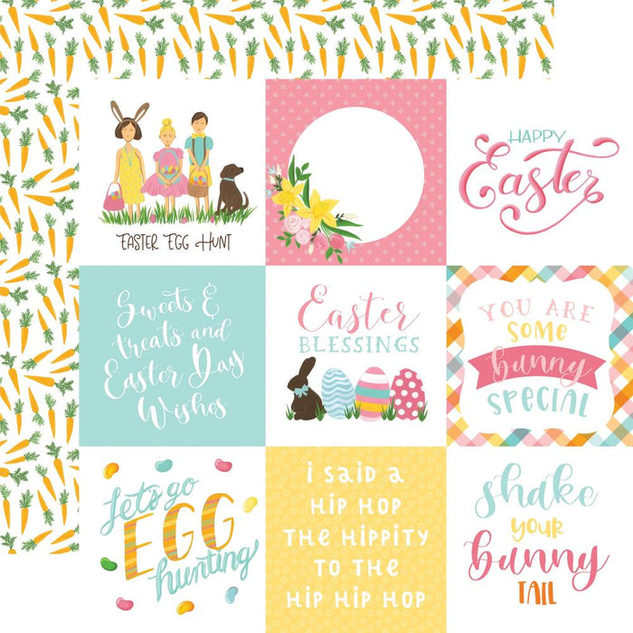 Echo Park I Love Easter - 4x4 Journaling Cards