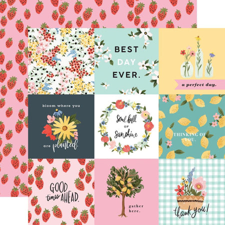 Carta Bella Oh Happy Day - 4x4 Journaling Cards