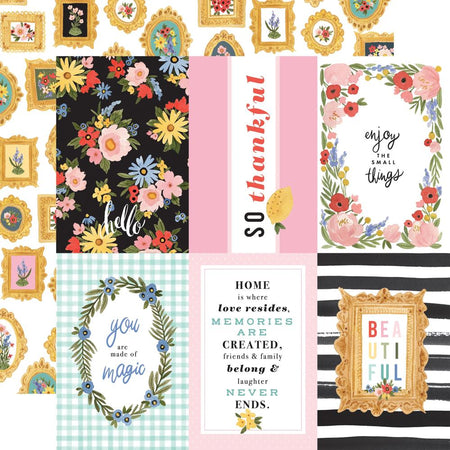Carta Bella Oh Happy Day - 4x6 Journaling Cards