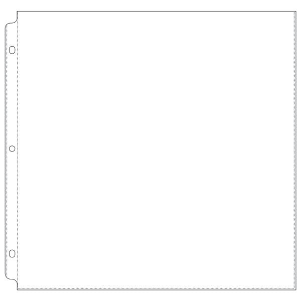 We R Memory Keepers 12x12 Photo Sleeves - 660150