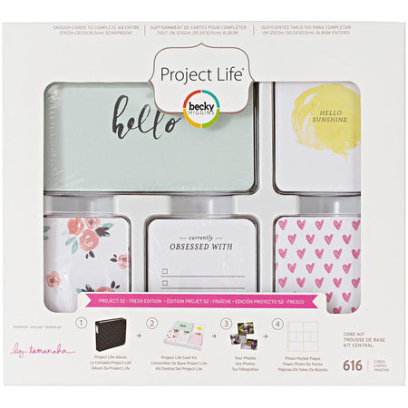 Project Life Core Kit -  Project 52 Fresh Edition
