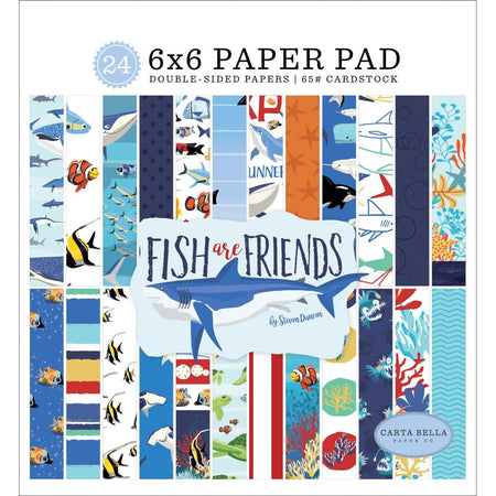 Carta Bella Fish Are Friends - 6x6 Paper Pad