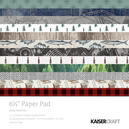 Kaisercraft Mountain Air - 6.5x6.5 Paper Pad