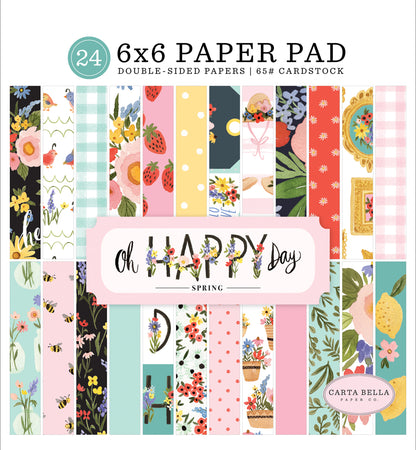 Carta Bella Oh Happy Day - 6x6 Paper Pad