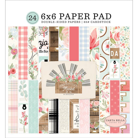 Carta Bella Farmhouse Market - 6x6 Paper Pad