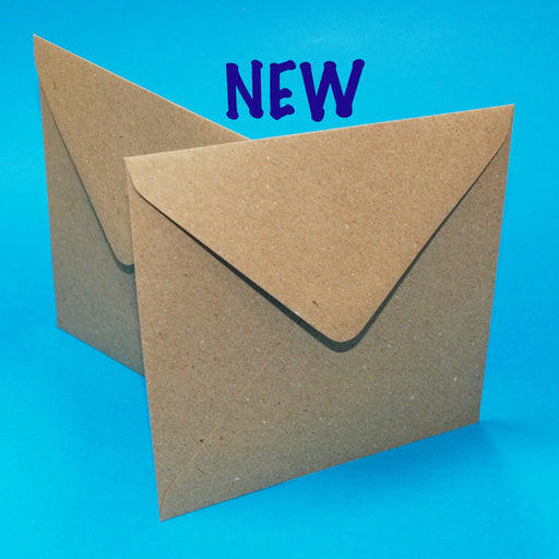 Craft UK Envelopes - 6x6 Kraft (50)