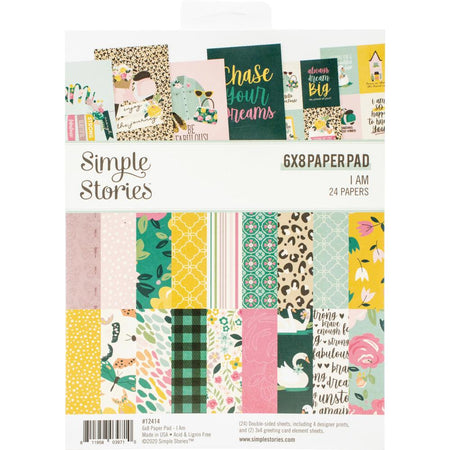 Simple Stories I Am - 6x8 Paper Pad