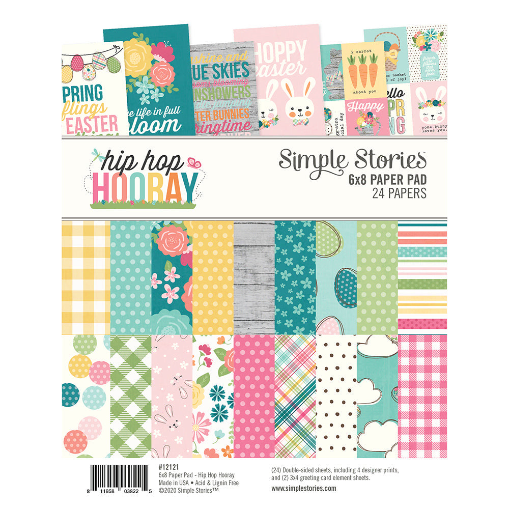 Simple Stories Hip Hop Hooray - 6x8 Paper Pad