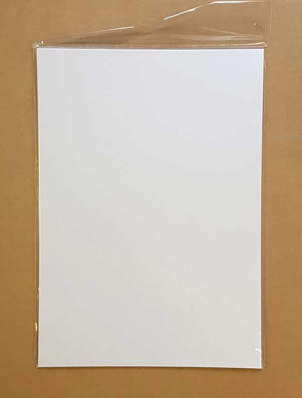 Craft UK A4 Ivory White Card & Paper Pack