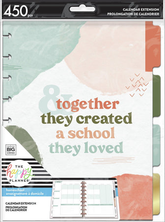 Me & My Big Ideas Happy Planner - Homeschool Classic Extension Pack