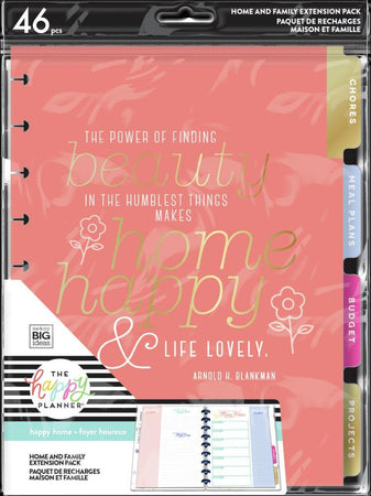 Me & My Big Ideas Happy Planner - Happy Home Classic Extension Pack