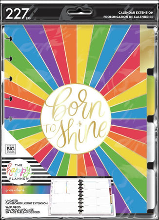 Me & My Big Ideas Happy Planner - Pride Classic Dashboard Extension Pack