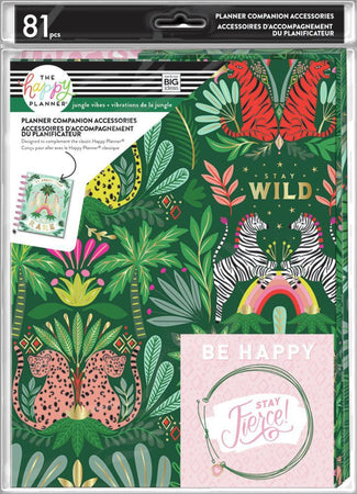 Me & My Big Ideas Happy Planner - Jungle Vibes Classic Planner Companion Accessories