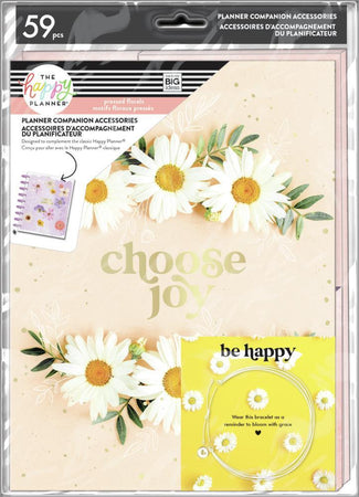 Me & My Big Ideas Happy Planner - Pressed Florals Classic Planner Companion Accessories