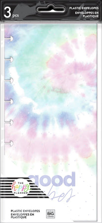 Me & My Big Ideas Happy Planner - Pastel Tie-Dye Snap In Envelopes