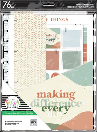 Me & My Big Ideas Happy Planner - Peachy Homeschool Big Accessory Pack