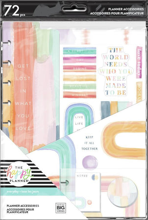 Me & My Big Ideas Happy Planner - Painterly Pastels Classic Accessory Pack