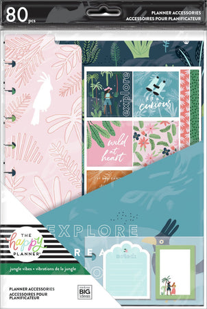Me & My Big Ideas Happy Planner - Jungle Vibes Classic Accessory Pack