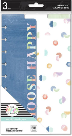 Me & My Big Ideas Happy Planner - Painterly Pastels Classic Dashboard