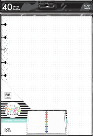 Me & My Big Ideas Happy Planner - Rock This Classic Fill Paper