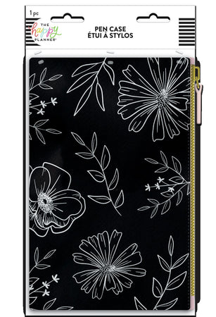 Me & My Big Ideas Happy Planner - Neutral Florals Classic Banded Pen Pouch
