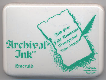 Archival Ink - Emerald