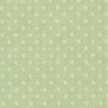 Bazzill 12x12 Dotted Swiss - Celtic Green
