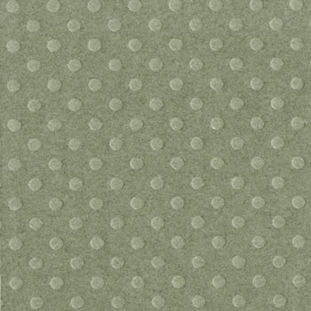 Bazzill 12x12 Dotted Swiss - Clover Leaf