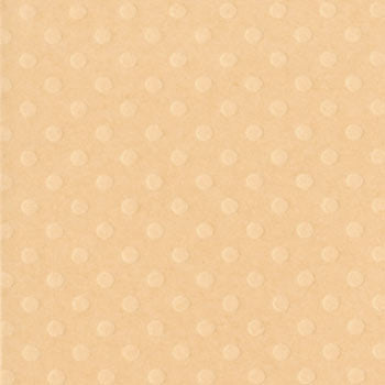 Bazzill 12x12 Dotted Swiss - Cornmeal