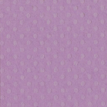 Bazzill 12x12 Dotted Swiss - Grape Jelly